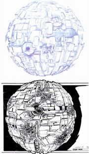 Borg sphere initial concepts by John Eaves
