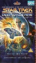 DS9 6.3 UK VHS cover
