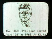John F Kennedy auf Computer