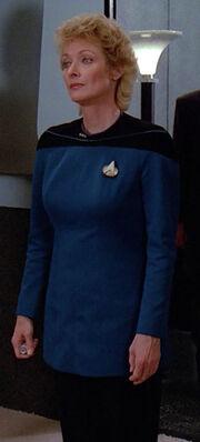 Katherine Pulaski, uniform variant