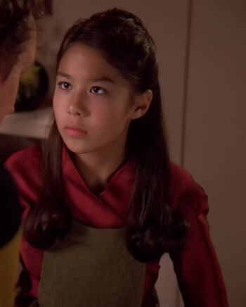 ...as young Keiko O'Brien