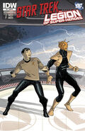 Star Trek - Legion of Super-Heroes issue 5 cover RI