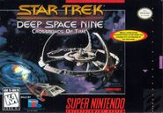 Star Trek DS9 Crossroads of Time SNES NA Cover