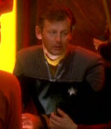 Starfleet officer at Quarks 2375
