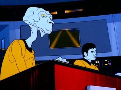 Sulu und Arex krank
