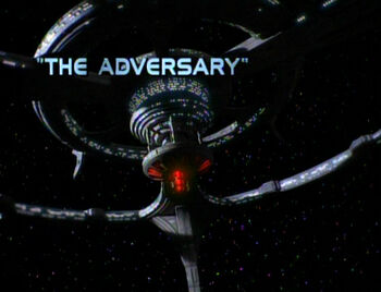 The Adversary title card