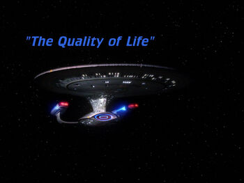 The Quality of Life title card