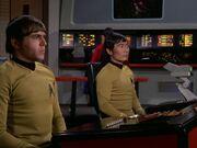 Chekov und Sulu meutern
