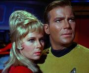 Janice Rand et Kirk