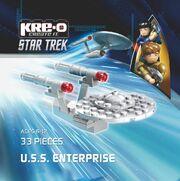 Kre-O USS Enterprise TOS