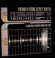 Seismische Aktivität auf Penthara IV