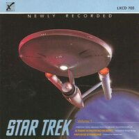 Star Trek - Symphonic Suites volume 1 cover