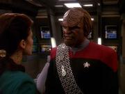 Worf und Dax auf Defiant