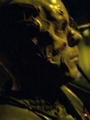 Borg-Drohne an Bord der Sonde (2375) 2