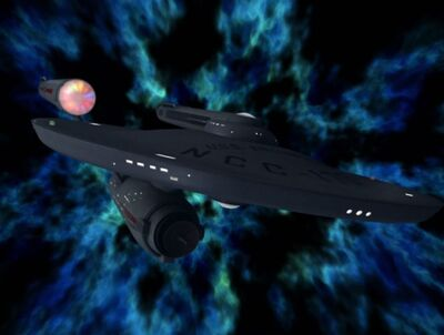 Enterprise im unbekannten Raum