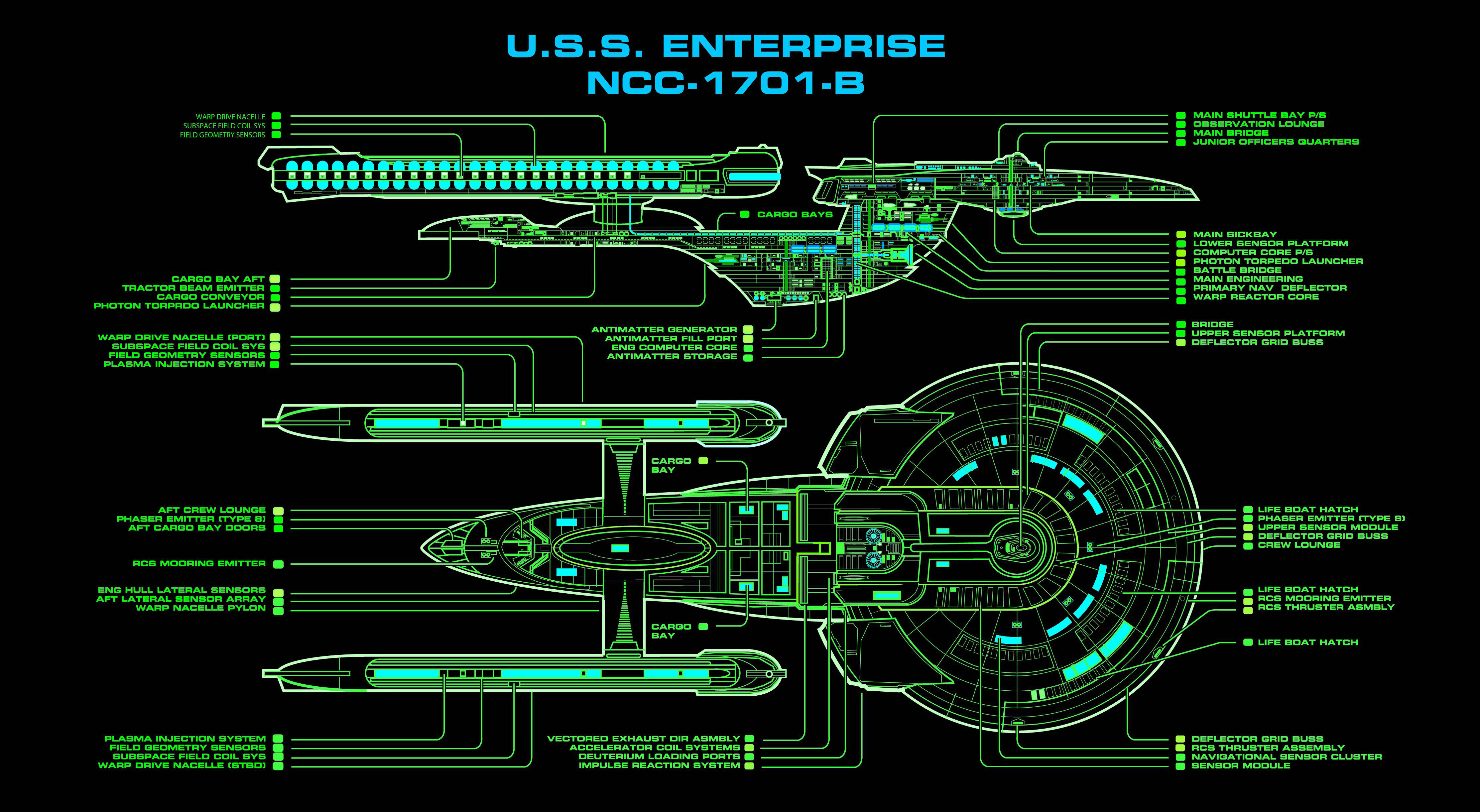 Excelsior class decks