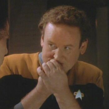 Miles O'Brien as Tobin Dax during Jadzia's <i>zhian'tara</i>