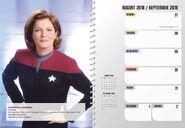 Star Trek Engagement Calendar 2019 August
