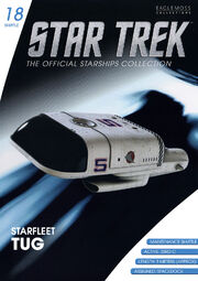 Star Trek Official Starships Collection Shuttle issue 18