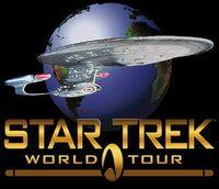 Star Trek World Tour logo