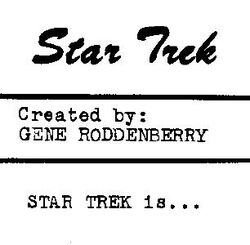 Star Trek is...