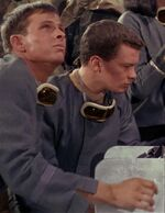 USS Enterprise laser technicians