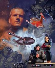 Federation Commander Romulan Border