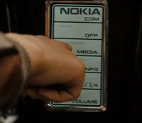 Nokia mobile telephone