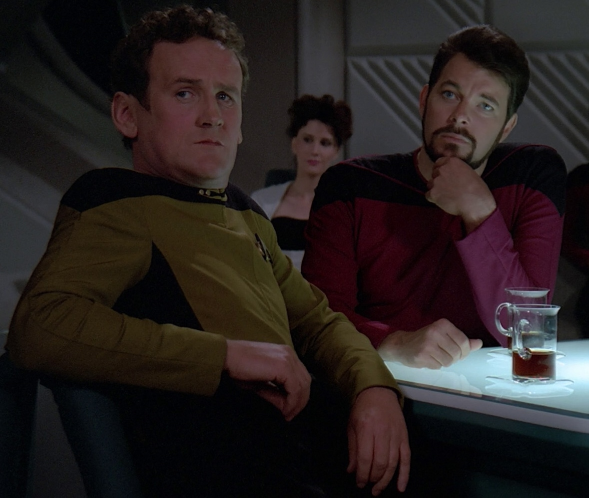 image o brien and riker 2365 jpg memory alpha fandom powered