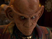 Quark versucht Jadzias Situation zu verstehen