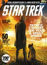 Star Trek Magazine issue 200 cover