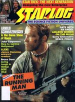 Starlog issue 125 cover