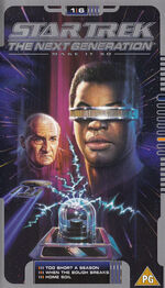 TNG 1.6 UK VHS cover