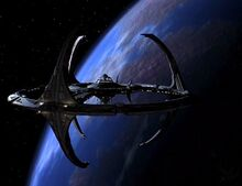 Terok Nor en orbite autour de Bajor
