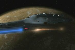 Voyager attacking the Kyrian and Vaskan homeworld.jpg