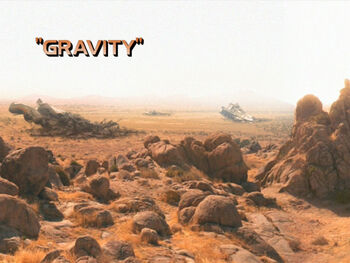 Gravity title card