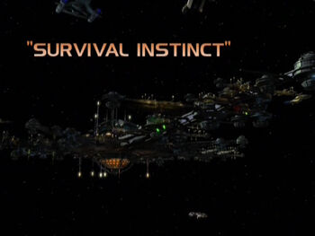 Survival Instinct title card