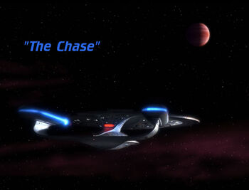 The Chase title card
