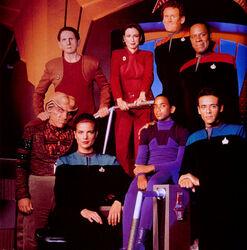 DS9 Crew Staffel 1