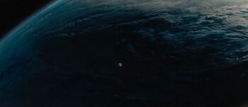 Delta Vega from orbit