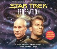 Federation audiobook cover, CD edition