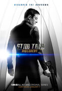 Star Trek Discovery Season 1 Chapter 2 Gabriel Lorca poster