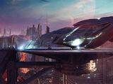 Sarek's cruiser