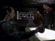 Odo erklärt die Entstehung von Thomas Riker