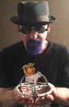 Ira Steven Behr with Eaglemoss DS9