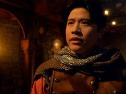 Kim as Beowulf