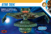 Round2 Polar Lights Model Kit Klingon K't'inga 1-350 2018