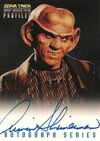 Star Trek Deep Space Nine - Profiles Armin Shimerman Autograph