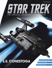 Star Trek Official Starships Collection SS Conestoga cover
