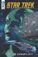 Star Trek The Q Conflict issue 5 cover A